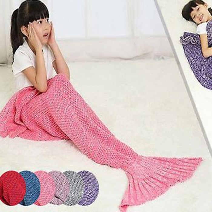 Go Groopie mermaid blanket