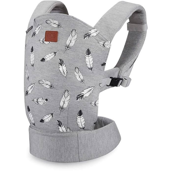 Kinderkraft Milo Baby Carrier (Grey)