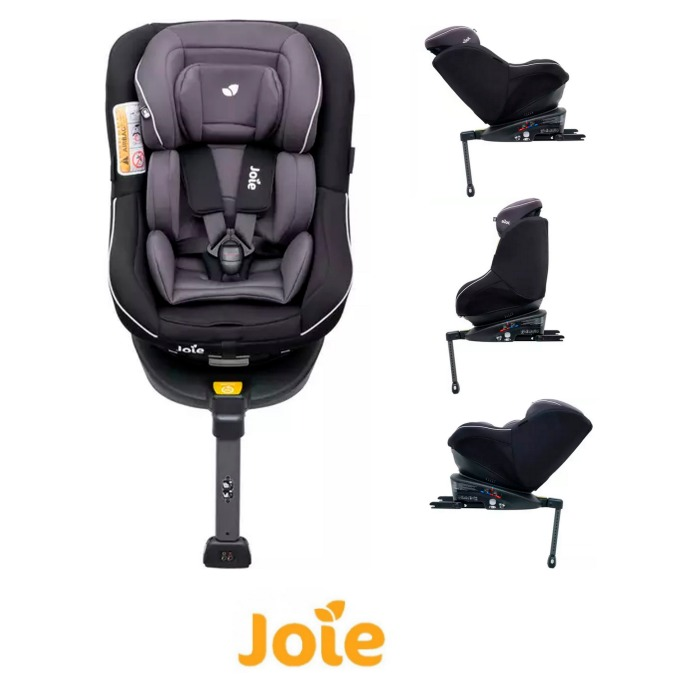 Joie Spin 360 Group 01 Isofix Car Seat Two Tone Black