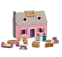 Fold and go dolls house