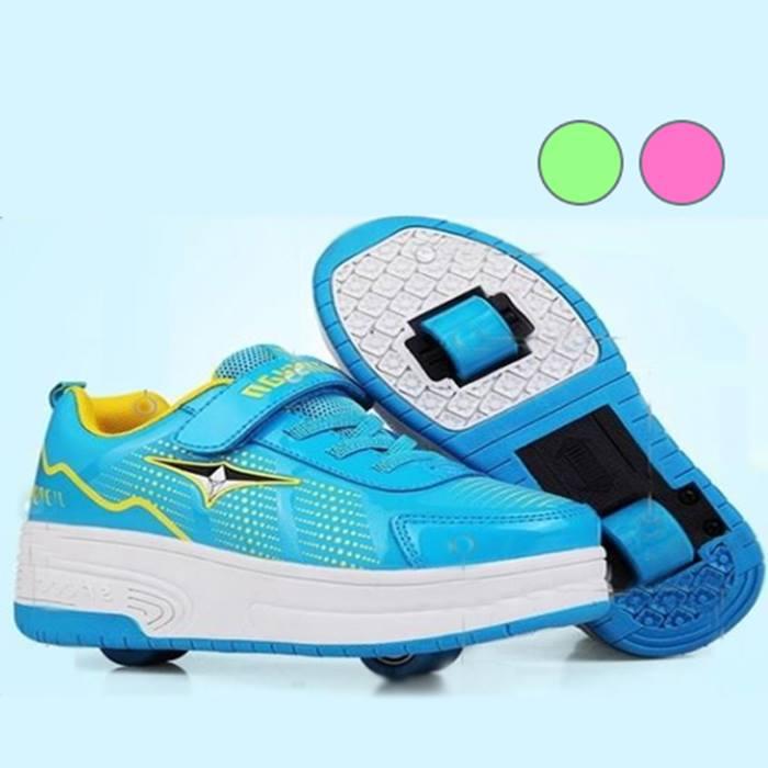 Kids' Wheelie Trainers - 3 Colours & 11 Sizes