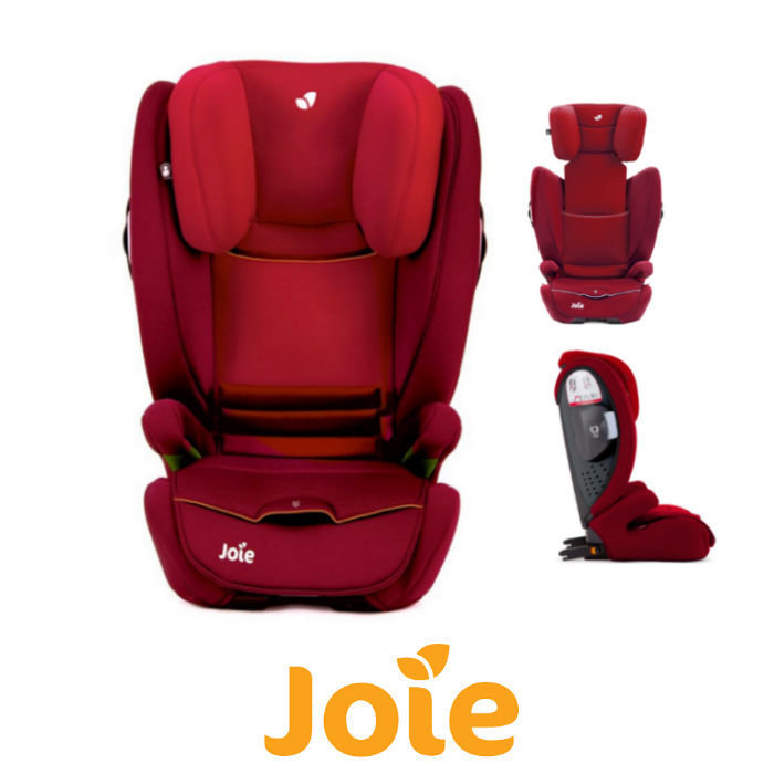 Joie Duallo Group 23 Isofix Booster Car Seat  Salsa