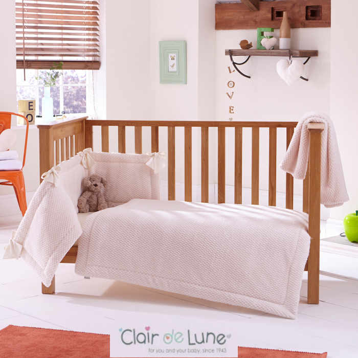 Clair De Lune Honeycomb 3 Piece Bale - Cream