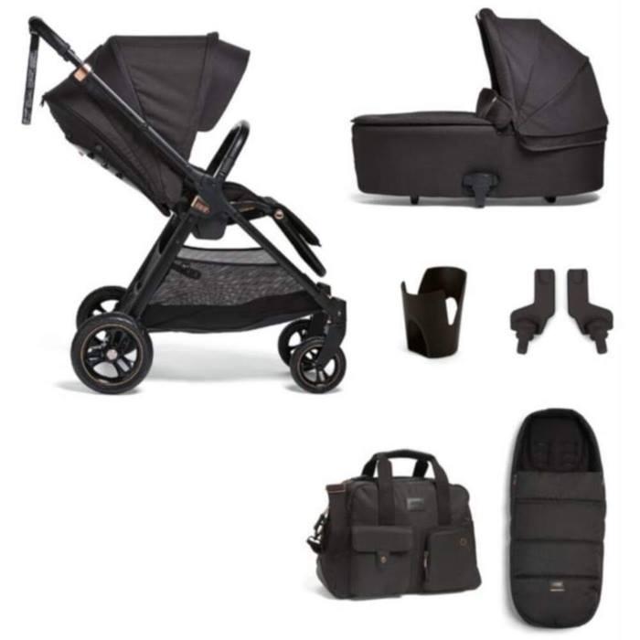 Mamas & Papas Flip XT3 6 Piece Essentials Bundle (Black/Copper)