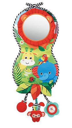 baby safari look and play car mirror 250