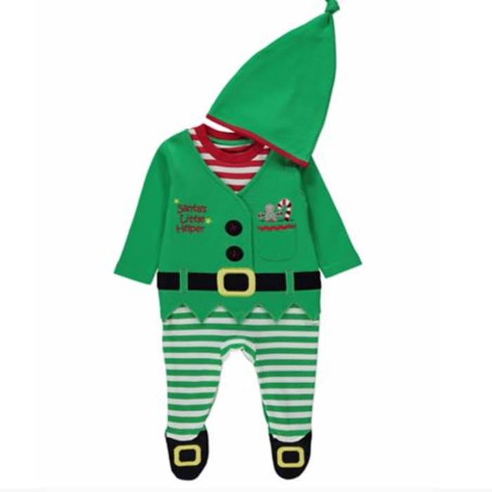 ASDA Elf baby grow