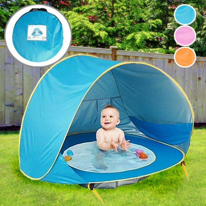 Waterproof Babies' Pool Play Tent - 3 Colours