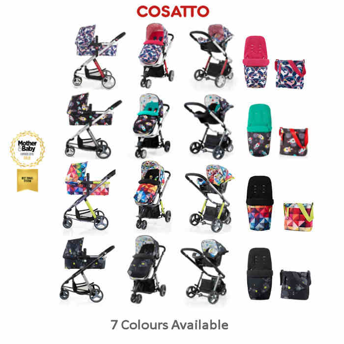 Cosatto Giggle 2 Combi 3 in 1 Travel System new