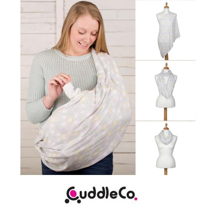 Cuddle Co Comfi Love 2 in 1 Infinity Maternity Designer Nursing Scarf