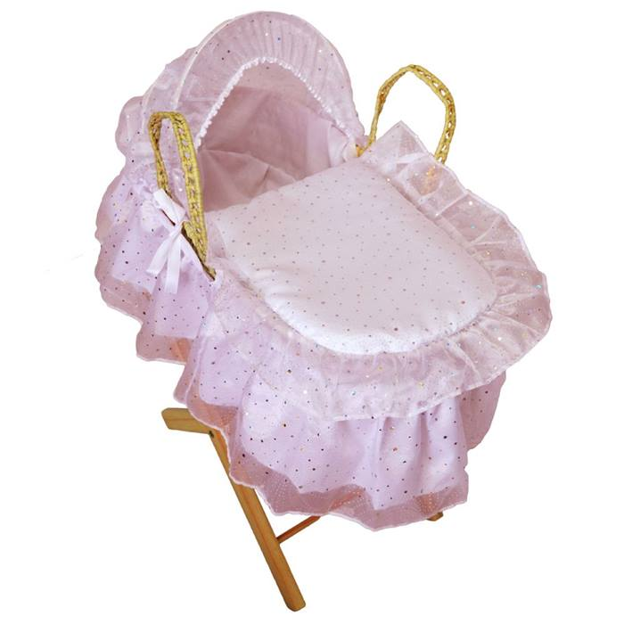 Cuddles Collection Dolls Moses Basket