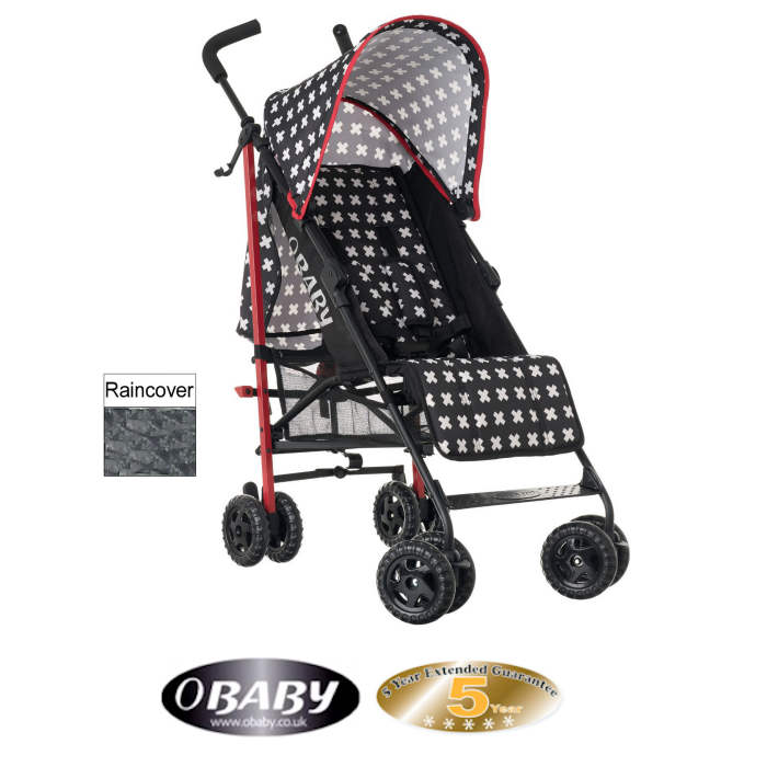 Obaby Atlas Stroller With Rain Cover