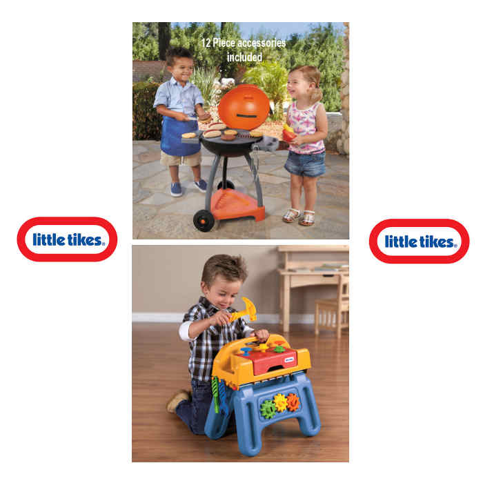 Little Tikes Childs Activity SIZZLE AND HANDIWORKER