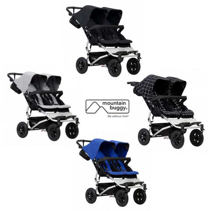 Mountain Buggy Duet V3 Twin Pushchair