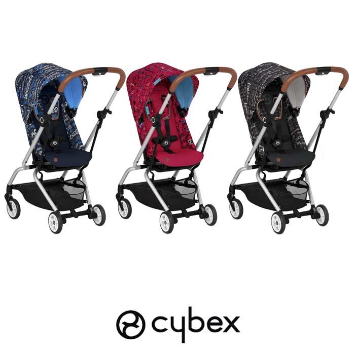 Cybex Eezy S Twist Gold Fashion Edition 360° Rotating Pushchair Stroller