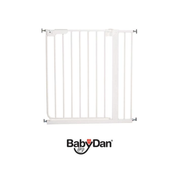 Babydan Luxury Danamic Pressure Indicator Stair Gate - White