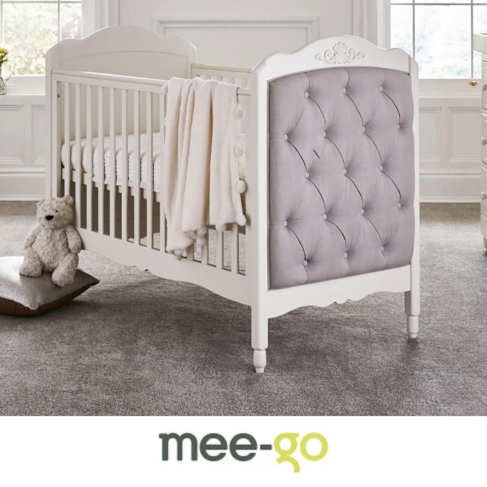 Mee-Go Epernay Cot Bed With Deluxe Foam Mattress