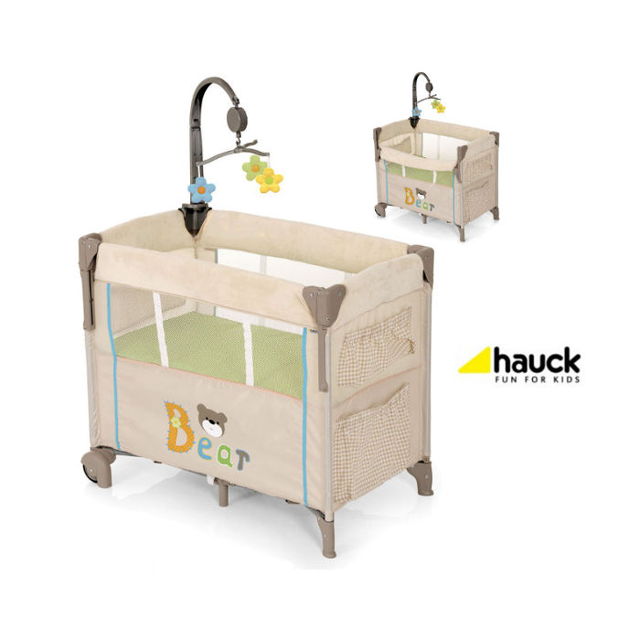 Hauck Deluxe Dream n Care Center Bassinette Bedside Travel Cot - Bear