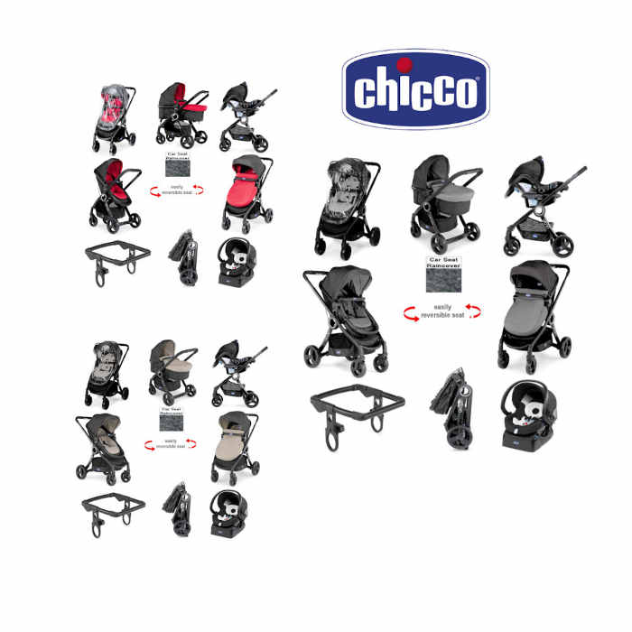 Chicco Urban Plus Luxury Travel System