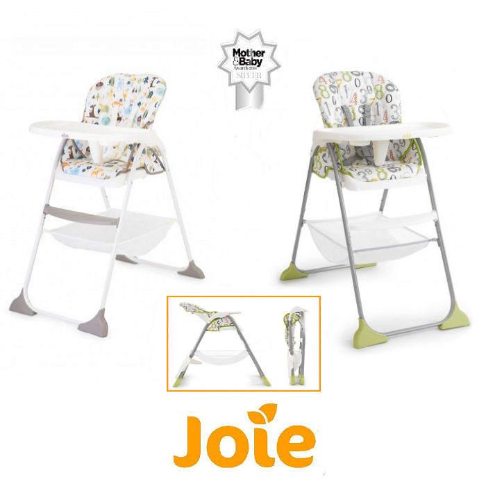 Joie Mimzy Snacker Highchair - 123 - alphabet