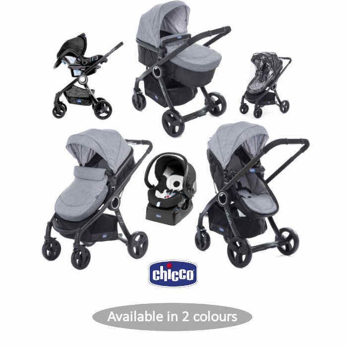 Chicco Luxury Urban Plus Travel System - Legend