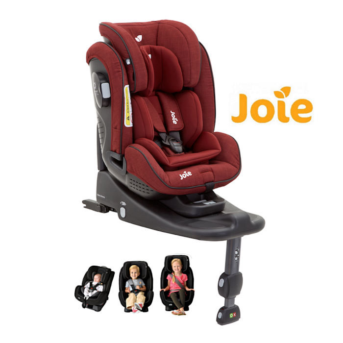 Joie Stages Group 012 Car Seat  Cranberry