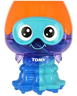 Toomies Spin & Splash Jellyfish Preschool Children's Bath Toy