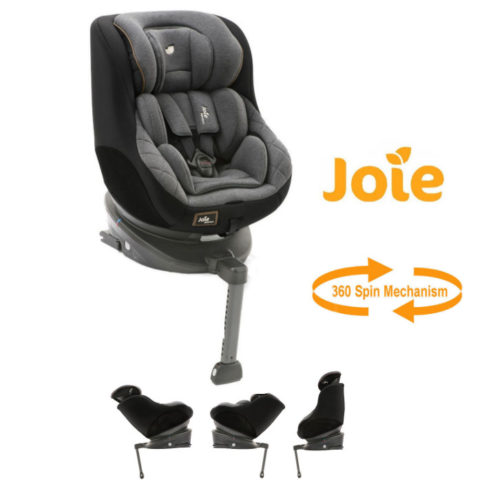 Joie Limited Edition Spin 360 - Signature Noir