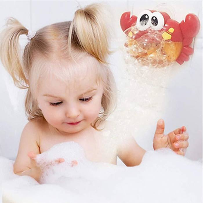 Musical-Crab-Bubble-Blower-Bath-Toy