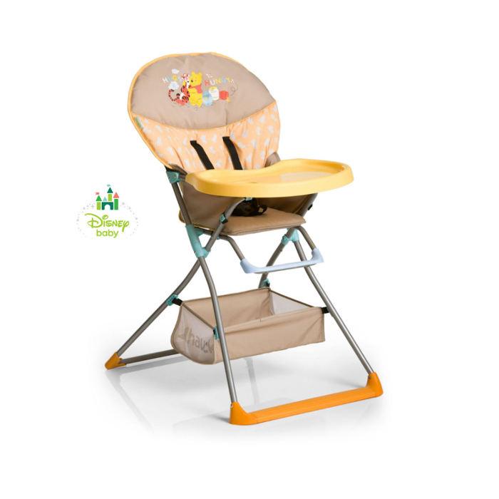 Hauck Deluxe Disney Mac Baby Highchair - Pooh In The Sun