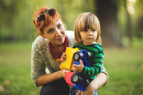 Supporting your child when someone dies 474