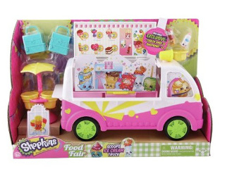 shopkins ice cream van