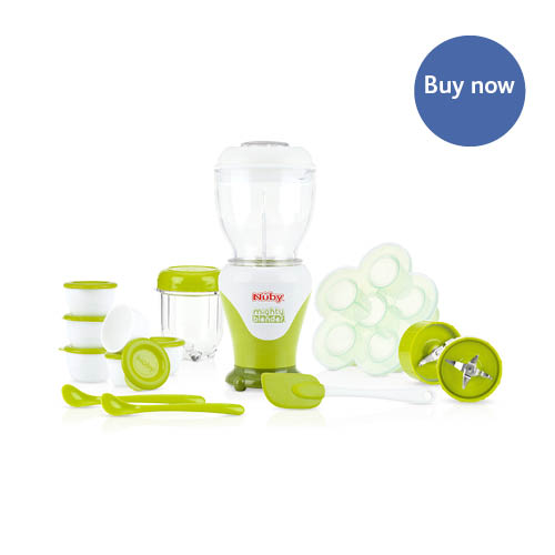 Nuby – Mighty Blender – White and Gree