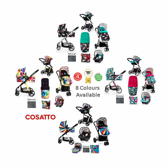 Cosatto Giggle 2 Combi 3 in 1 Travel System Update