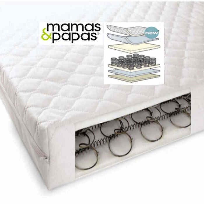 Mamas  Papas Sleepfresh Perfect Balance 400 Sprung Cot Bed Mattress  140 x 70cm
