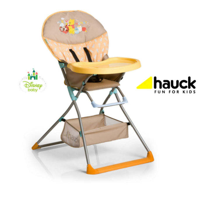 Hauck Deluxe Disney Mac Baby Highchair - Pooh In The Sun