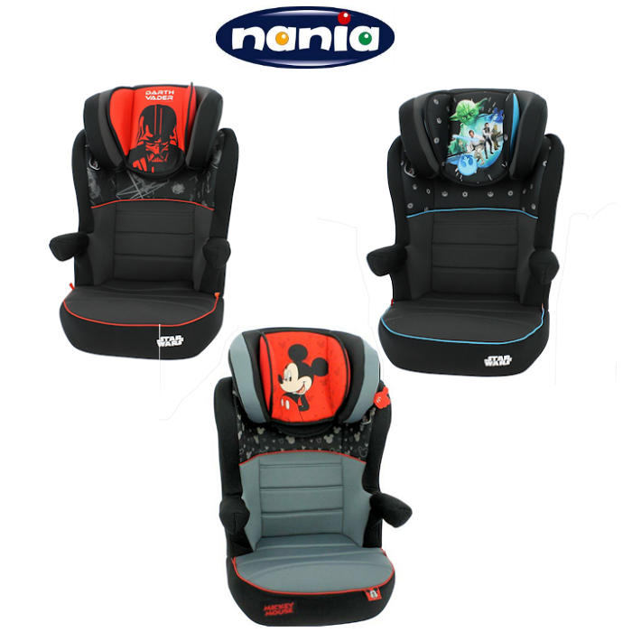 Nania Deluxe Rway Group 2-3 High Back Booster Car Seat