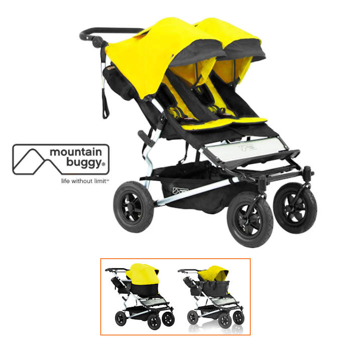 Mountain Buggy Duet With Family Pack  Cyber