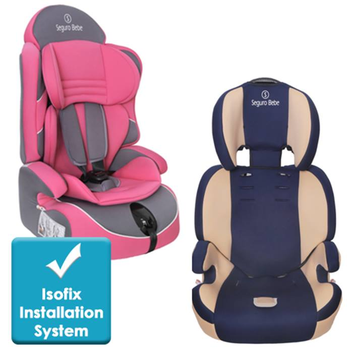 Seguro Bebe Lima or Bravo Car Seat - 2 Colours