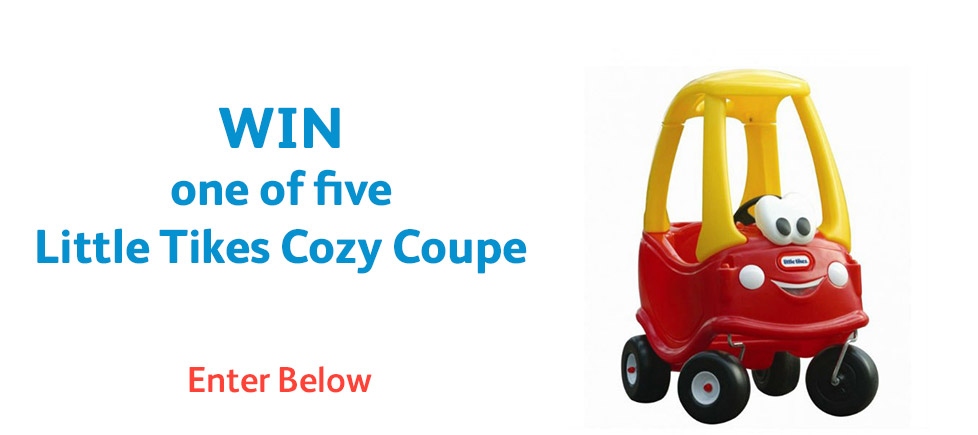 Win one of five Little Tikes Cozy Coupe