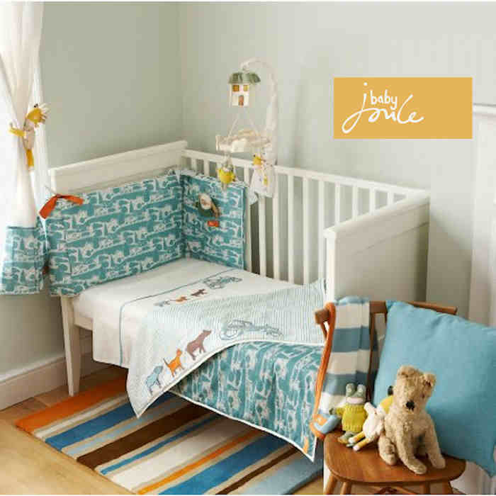 Baby Joule 8pc Nursery Room Set - On The Farm