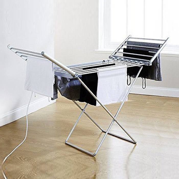 Heated Electric Clothes Airer - 2 Sizes