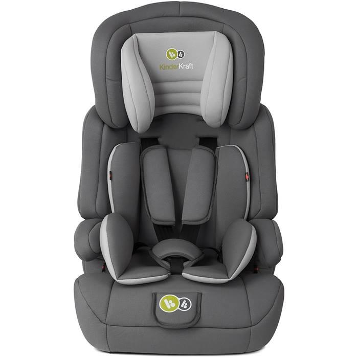 KinderKraft Comfort Up Group Group 1,2,3 Car Seat (Grey)