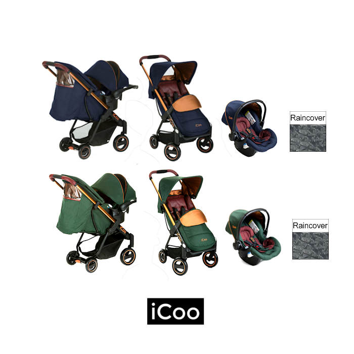 ICoo Acrobat Shop n Drive Travel System