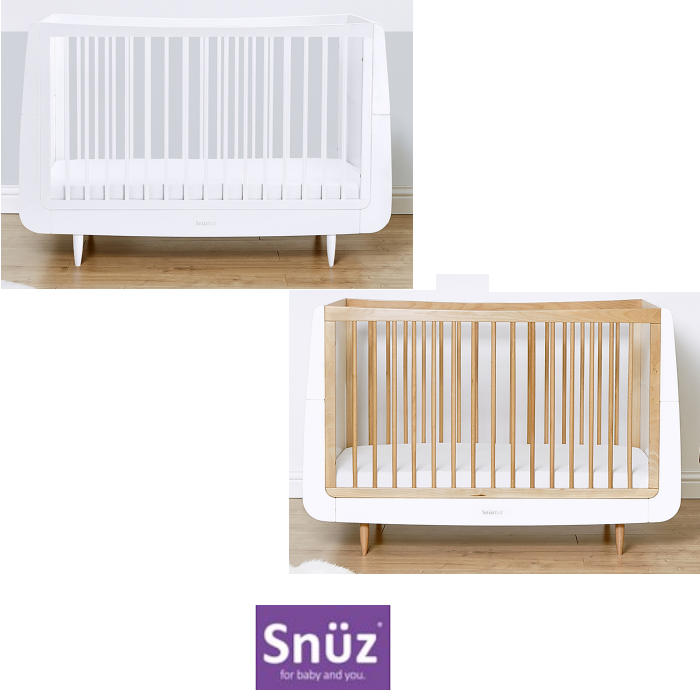 Snuz SnuzKot Skandi Cot Bed & Maxi Air Cool Mattress