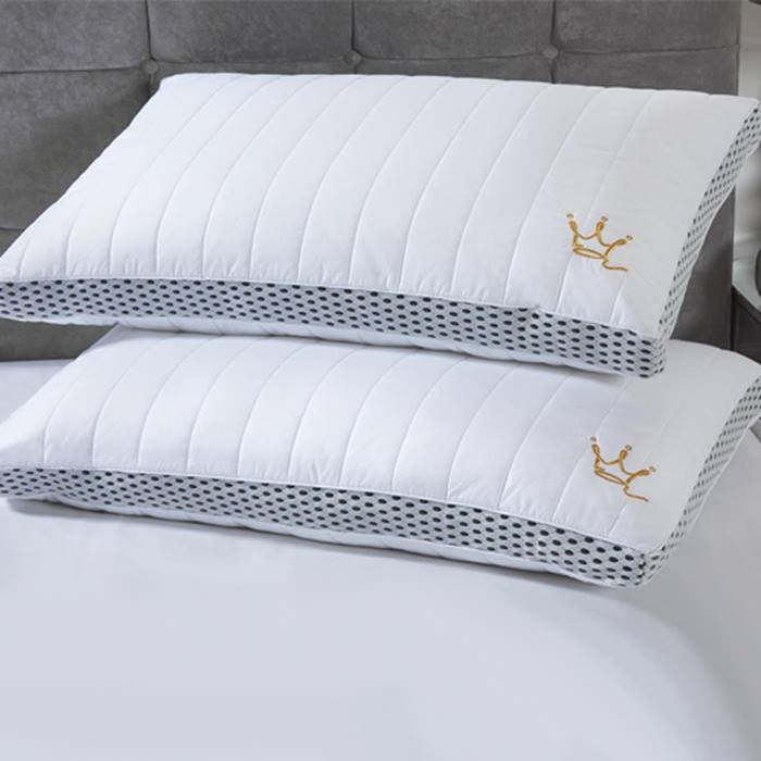 Quilted Pocket Sprung Pillow - 1 or 2 Pack