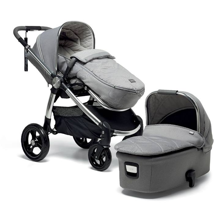 Mamas & Papas Ocarro 9 Piece Starter Bundle (Herringbone Grey)