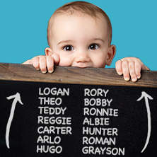 baby names boys up 222