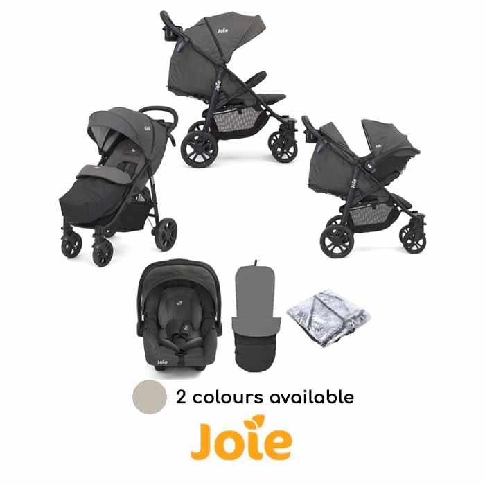 Joie Litetrax 4 Wheel (Gemm) Pushchair Travel System