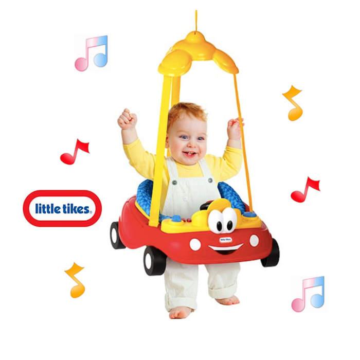 Little Tikes Cozy Coupe Deluxe Door Jumper - Red - Yellow