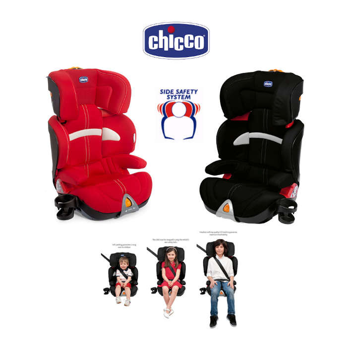 Chicco Oasys Group 23 Booster Car Seat